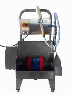 Lavasuole elettrico con idrospazzola in acciaio inox 920 P001