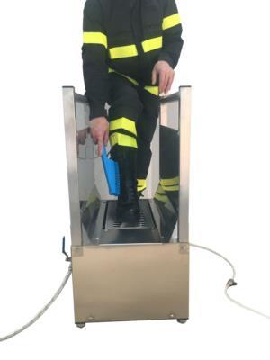 lavastivali speciale per vigili del fuoco ad aria compressa