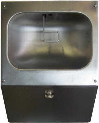 nebulizzatore pneumatico mani in acciaio inox