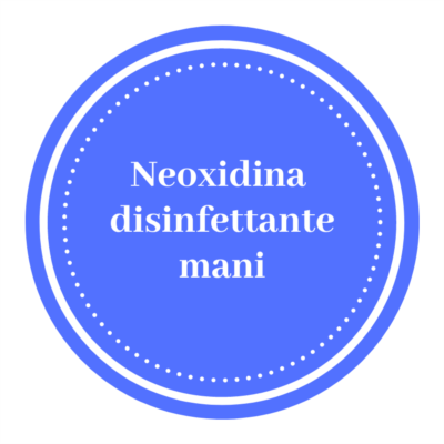 neoxidina disinfettante mani per nebulizzatori inox